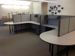 Herman Miller Action Office 2 Clone Cubicles