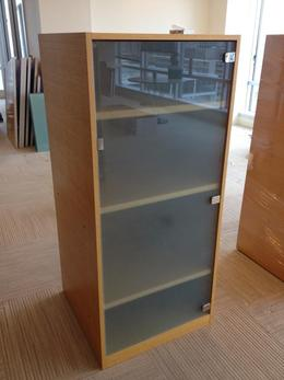 Used Wood Storage Cabinet