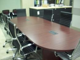 10' Conference Table Racetrack