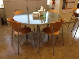 48'' break room tables