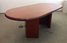 Gunlocke cherry conference table