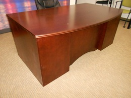 Jasper Group Executive Bow Front Desk