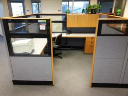 "8x8x65""H Kimball Cetra Cubicles"