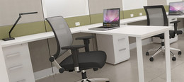 Contemporary Style New Friant Workstations