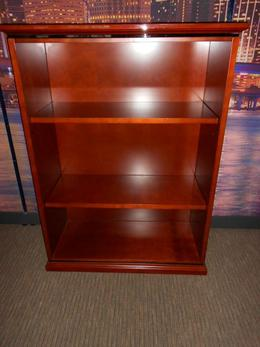 Wood Executive Book Case Unit