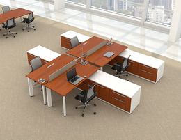 Friant Office Benching and Desking