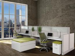 Remanufactured Herman Miller AO2 Cubicles