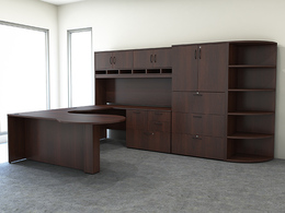 Desks - Dark laminate finishes