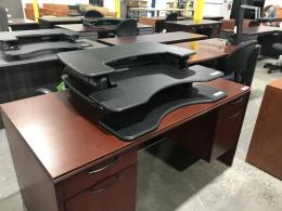 Assorted Mahogany Desks