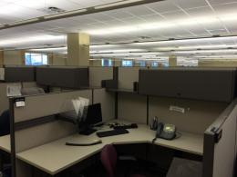 Super flexible Steelcase Cubicles