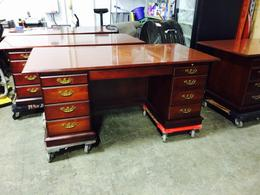 36 x 72 Double Pedestal Traditional Desk