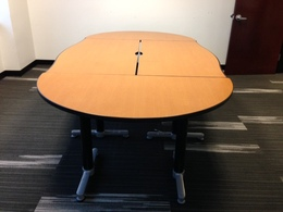 Pre-Owned Cherry Laminate Modular Tables
