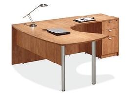 L-Shape Laminate Desk