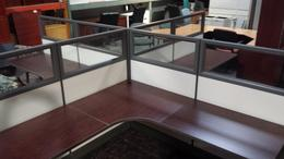 Herman Miller Clone Glass Cubicle Workstation