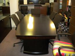 Boat Shaped Veneer Conference Tables