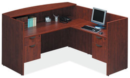 OTG Reception Desk 72x36 & Return 24x42