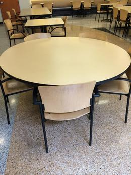 Round Breakroom Tables