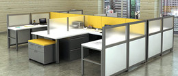 Refurbished Haworth Office Cubicles