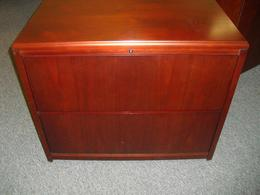 OFS 2 Drawer Wood Lateral File