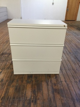 Herman Miller 3 Drawer Lateral File