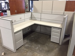 Used Herman Miller 6x6 Cubicles