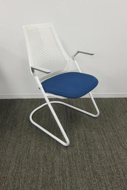 Herman Miller SAYL Side Chairs with Sled Base