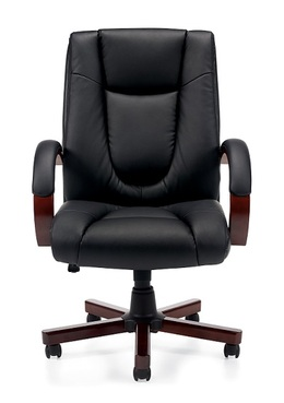 New Executive Chair with Wood Arms & Base
