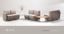 New JSI Encore Reception Furniture