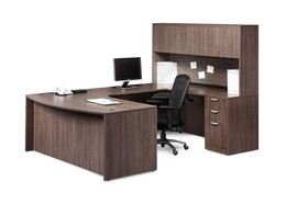 Classic and Executive Bow Front Workstation