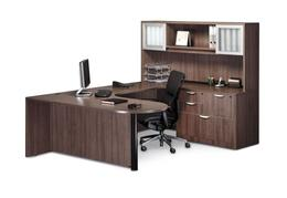 The Performance Classic Bullet D Shaped Desk