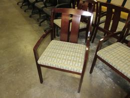 Kimball cherry guest chairs