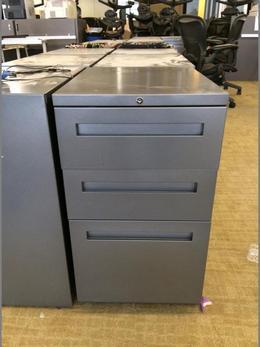 Used 3 Drawer Pedestal Files