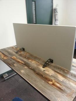 Free Standing Desk Divider 4 Noise Reduction