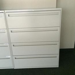 Hon 4 Drawer Lateral File Cabinets