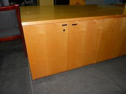 USED MAPLE STORAGE CABINETS