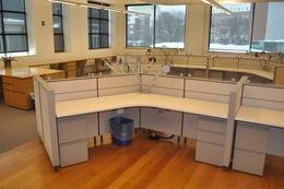 Herman Miller Canvas 120 Degree Workstations
