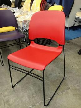 Herman Miller Limerick Stacking Side Chairs