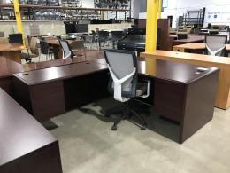 L Shape Laminate Desks