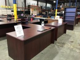 L Shape Laminate Desks