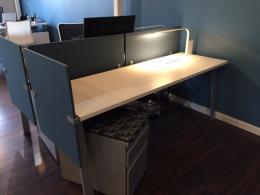 Haworth Reside Desking Stations