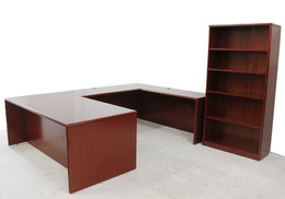 Charming Ruby U-Shaped Desk