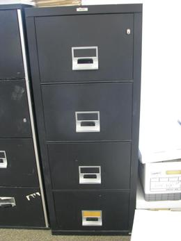 Victor 9412 Legal 4 Drawer Fire Files