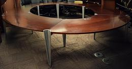 Davis 10'D Conference Table w/ Open Center