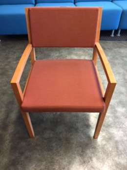 Gunlocke Wood Guest Chair