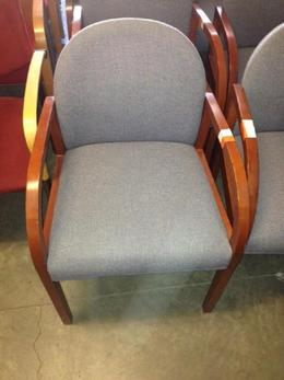 Grey Kimball Guest Chairs