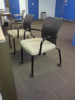 Stacking Side Chair with Casters