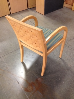 Geiger Wood Frame Guest Chairs