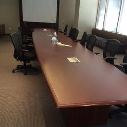 24' Conference Tables - Cherry Wood Veneer