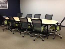 12' Laminate Conference Table