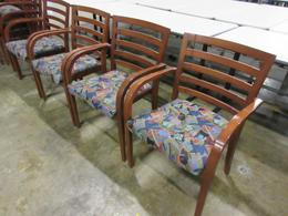 Lowenstein Slat back arm chair